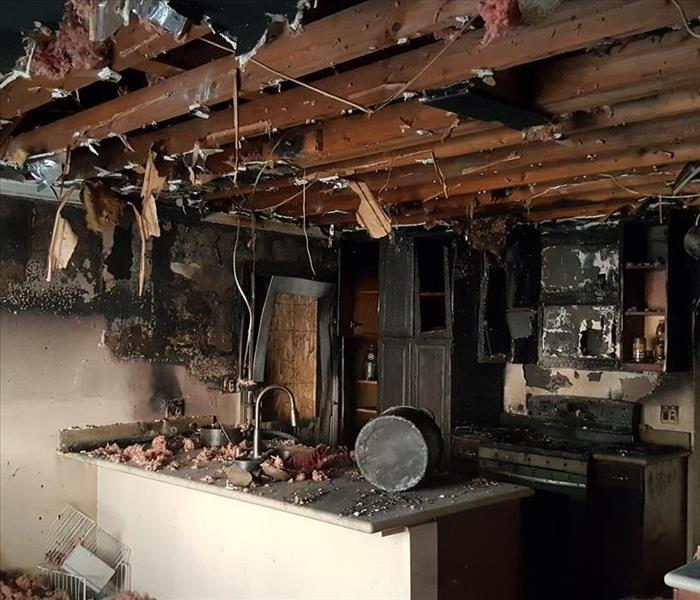 Illegal Marijuana House Caught on Fire in West Covina, CA Before